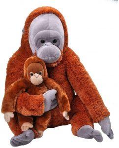 Peluche de Orangután de Wild Republic de 76 cm - Los mejores peluches de orangutanes - Peluches de animales