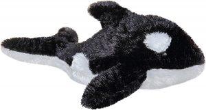 Peluche de Orca de Aurora de 21 cm - Los mejores peluches de orcas - Peluches de animales