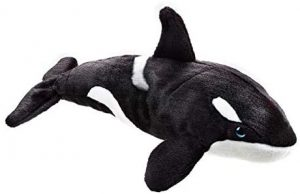 Peluche de Orca de National Geographic de 40 cm - Los mejores peluches de orcas - Peluches de animales