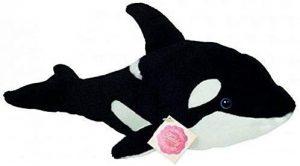 Peluche de Orca de Teddy Hermann de 33 cm - Los mejores peluches de orcas - Peluches de animales