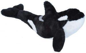 Peluche de Orca de Wild Republic de 20 cm - Los mejores peluches de orcas - Peluches de animales