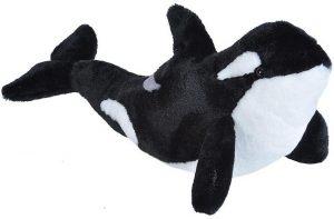 Peluche de Orca de Wild Republic de 30 cm - Los mejores peluches de orcas - Peluches de animales