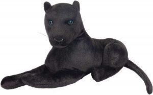 Peluche de Pantera Negra de BRUBAKER de 45 cm - Los mejores peluches de panteras - Peluches de animales