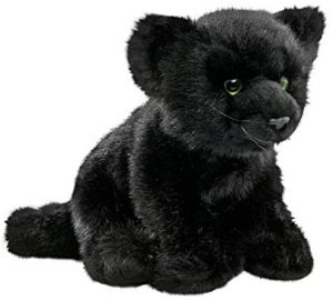 Peluche de Pantera Negra de Carl Dick de 25 cm - Los mejores peluches de panteras - Peluches de animales