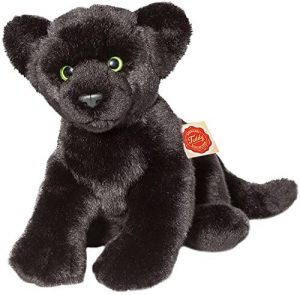 Peluche de Pantera Negra de Hermann Teddy de 32 cm - Los mejores peluches de panteras - Peluches de animales