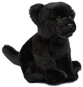 Peluche de Pantera Negra de Mimex de 23 cm - Los mejores peluches de panteras - Peluches de animales
