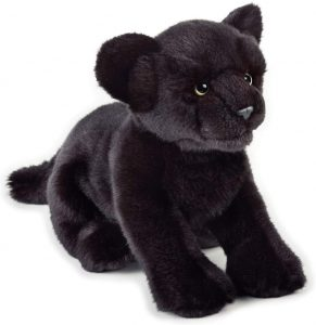 Peluche de Pantera Negra de National Geographic de 25 cm - Los mejores peluches de panteras - Peluches de animales