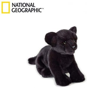Peluche de Pantera Negra de National Geographic de 32 cm - Los mejores peluches de panteras - Peluches de animales