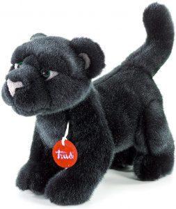 Peluche de Pantera Negra de Trudi de 28 cm - Los mejores peluches de panteras - Peluches de animales
