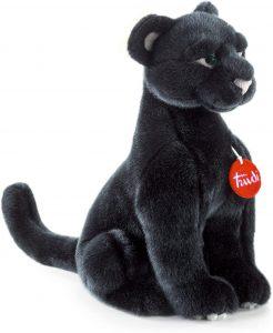 Peluche de Pantera Negra de Trudi de 34 cm - Los mejores peluches de panteras - Peluches de animales