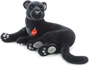 Peluche de Pantera Negra de Trudi de 46 cm - Los mejores peluches de panteras - Peluches de animales