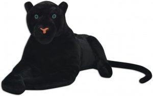 Peluche de Pantera Negra de VidaXL de 80 cm - Los mejores peluches de panteras - Peluches de animales