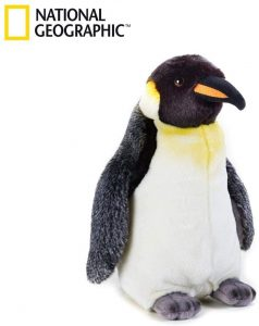 Peluche de Pinguino de National Geographic de 30 cm - Los mejores peluches de pinguinos - Peluches de animales