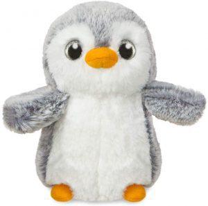 Peluche de Pinguino de Pompon de 15 cm - Los mejores peluches de pinguinos - Peluches de animales