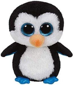 Peluche de Pinguino de Ty Beanie Boos de 15 cm - Los mejores peluches de pinguinos - Peluches de animales