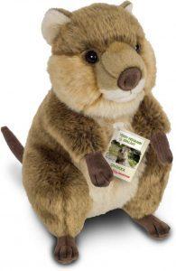 Peluche de Quokka de Hermann Teddy de 30 cm - Los mejores peluches de quokkas - Peluches de animales