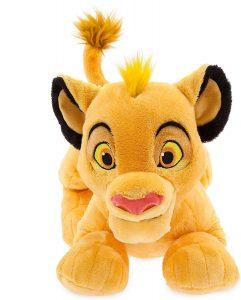 Peluche de Simba del Rey león de Disney de 17 cm - Los mejores peluches del Rey León - Peluches de Disney