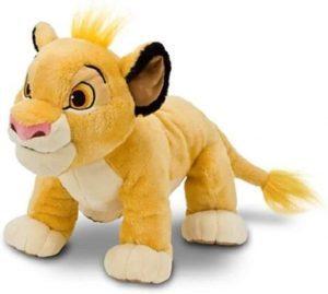 Peluche de Simba del Rey león de Disney de 18 cm - Los mejores peluches del Rey León - Peluches de Disney
