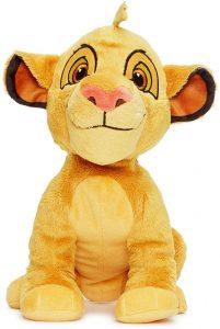 Peluche de Simba del Rey león de Disney de 18 cm de Posh Paws - Los mejores peluches del Rey León - Peluches de Disney
