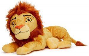 Peluche de Simba del Rey león de Disney de 25 cm de Posh Paws - Los mejores peluches del Rey León - Peluches de Disney