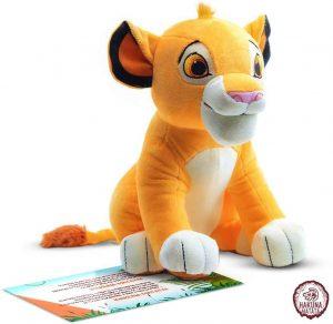 Peluche de Simba del Rey león de Disney de 26 cm - Los mejores peluches del Rey León - Peluches de Disney