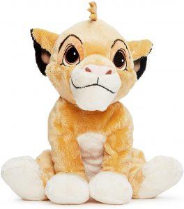 Peluche de Simba del Rey león de Disney de 35 cm - Los mejores peluches del Rey León - Peluches de Disney