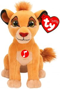 Peluche de Simba del Rey león de Disney de Ty de 15 cm - Los mejores peluches del Rey León - Peluches de Disney