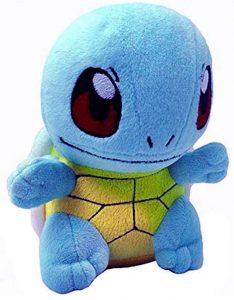 Peluche de Squirtle de Pokemon de Feel de 20 cm - Los mejores peluches de Squirtle - Peluches de Pokemon
