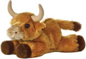 Peluche de Toro de Aurora de 20 cm 2 - Los mejores peluches de toros - Peluches de animales