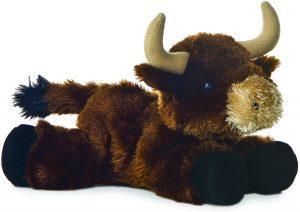 Peluche de Toro de Aurora de 20 cm - Los mejores peluches de toros - Peluches de animales