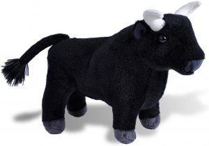 Peluche de Toro de Wild Republic de 20 cm - Los mejores peluches de toros - Peluches de animales