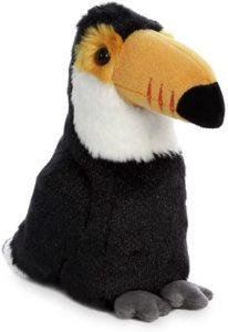 Peluche de Tucán de Aurora de 20 cm - Los mejores peluches de tucanes - Peluches de animales
