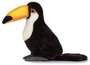 Peluche de Tucán de Living Nature de 17 cm - Los mejores peluches de tucanes - Peluches de animales