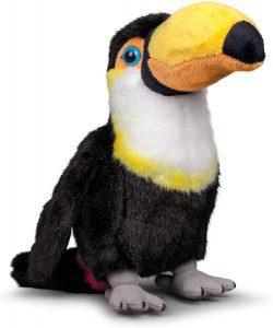 Peluche de Tucán de Tobar de 28 cm - Los mejores peluches de tucanes - Peluches de animales