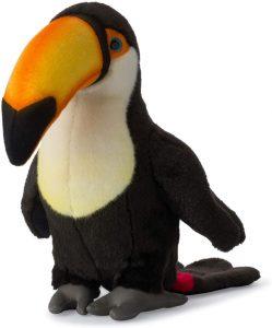 Peluche de Tucán de WWF de 35 cm - Los mejores peluches de tucanes - Peluches de animales