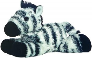 Peluche de cebra de Mini Flopsie de 20 cm - Los mejores peluches de cebras - Peluches de animales