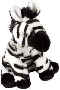 Peluche de cebra de Wild Republic de 20 cm - Los mejores peluches de cebras - Peluches de animales
