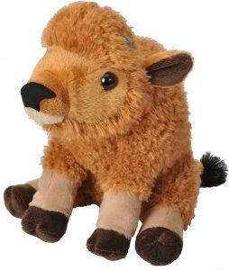 Peluche de cría de bisonte de Wild Republic de 15 cm - Los mejores peluches de bisontes - Peluches de animales
