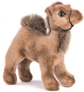 Peluche de dromedario de Hansa de 18 cm - Los mejores peluches de camellos - Peluches de animales