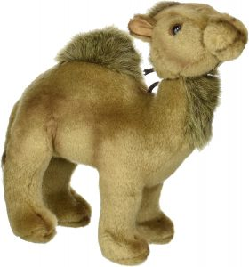 Peluche de dromedario de Hansa de 21 cm - Los mejores peluches de camellos - Peluches de animales