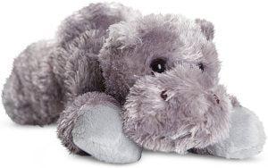 Peluche de hipopótamo de Aurora World de 8 cm - Los mejores peluches de hipopótamos - Peluches de animales