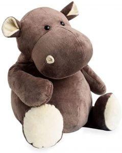 Peluche de hipopótamo de Histoire d'ours de 80 cm - Los mejores peluches de hipopótamos - Peluches de animales