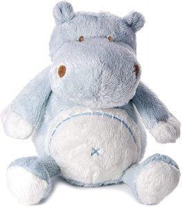 Peluche de hipopótamo de Mousehouse Gifts de 23 cm - Los mejores peluches de hipopótamos - Peluches de animales