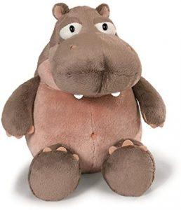 Peluche de hipopótamo de NICI de 15 cm - Los mejores peluches de hipopótamos - Peluches de animales