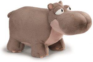 Peluche de hipopótamo de NICI de 20 cm - Los mejores peluches de hipopótamos - Peluches de animales