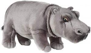 Peluche de hipopótamo de National Geographic de 35 cm - Los mejores peluches de hipopótamos - Peluches de animales