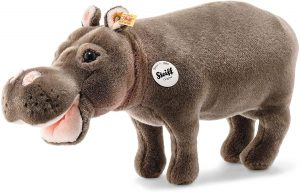 Peluche de hipopótamo de Steiff de 43 cm - Los mejores peluches de hipopótamos - Peluches de animales