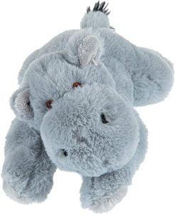 Peluche de hipopótamo de Wild Republic ECO de 20 cm - Los mejores peluches de hipopótamos - Peluches de animales