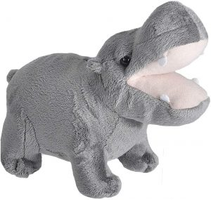 Peluche de hipopótamo de Wild Republic de 10 cm - Los mejores peluches de hipopótamos - Peluches de animales