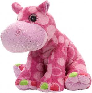Peluche de hipopótamo de Wild Republic de 30 cm rosa - Los mejores muñecos de hipopótamos